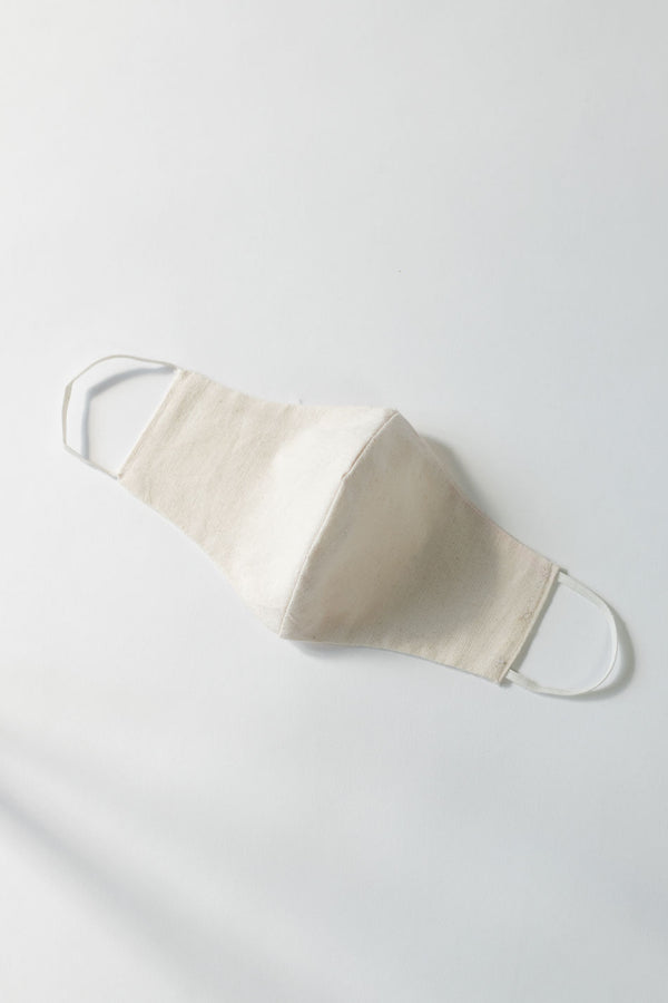 Anti Pollution Face Mask - 2 layer Natural Cotton