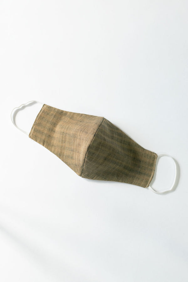 Cotton Reusable face mask - Wooden Brown