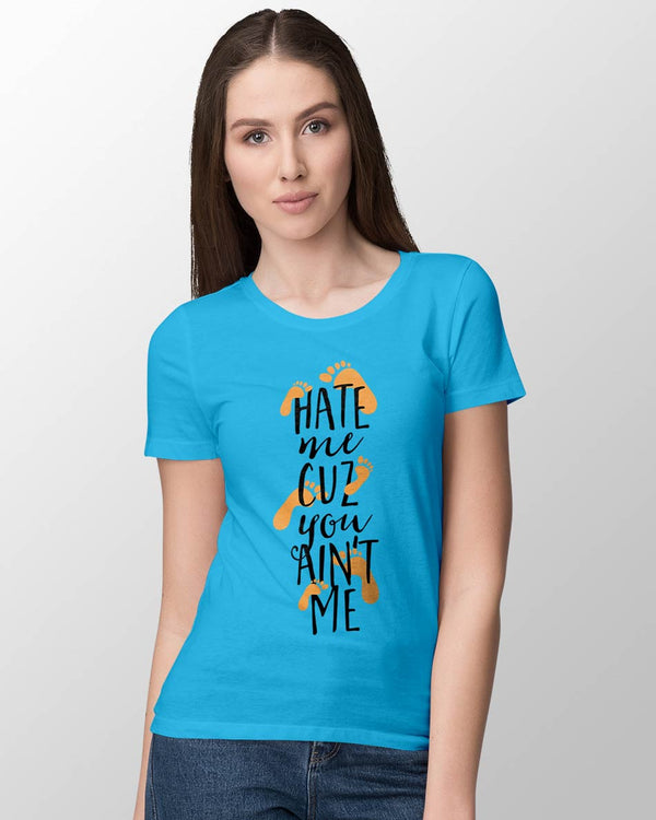 Hate Me - Women's O-Neck T-shirt