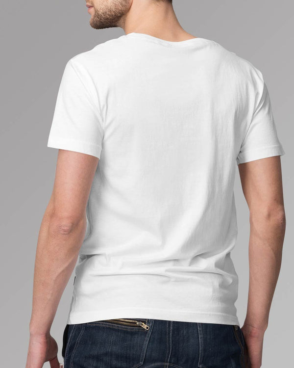 Men's Solid White