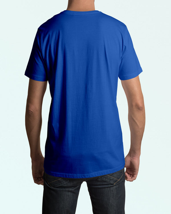 Men's Royal Blue O-Neck Tshirt