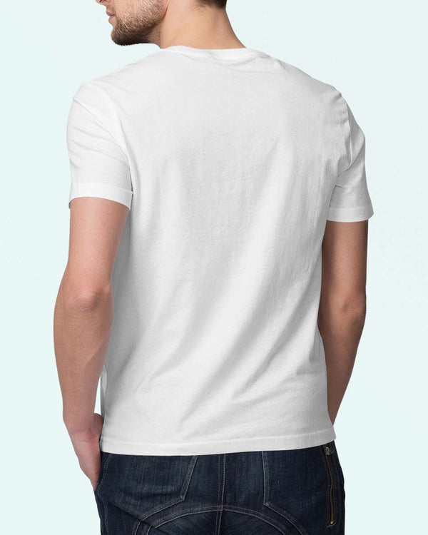 Topwear for him, Classy white Tshirt by WildGear