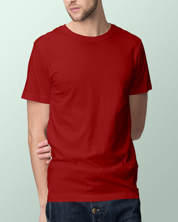 Men's Solid Red