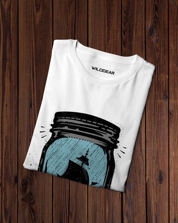 Half Sleeves graphic tshirt - Wildgear