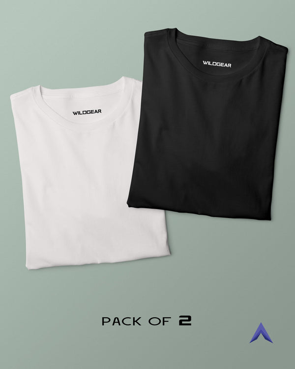 Pack of 2 - White, Black