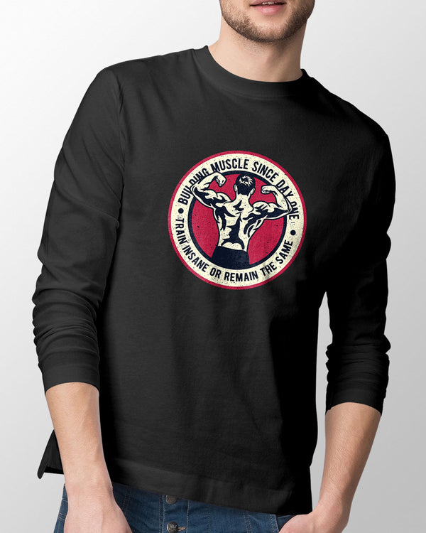 Building Muscle - Long Sleeve T-shirt
