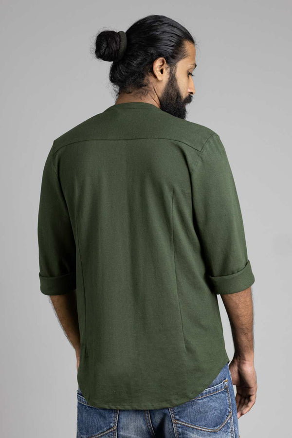 Hunter Green Marcella Shirt
