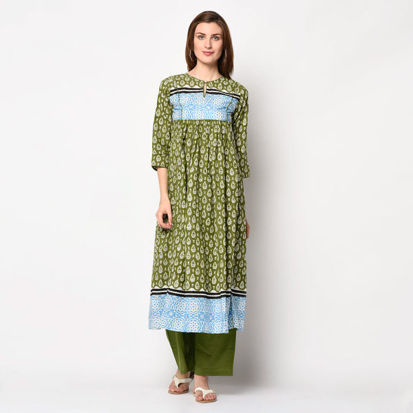 Viraahi Kurti Sets- 100% cotton