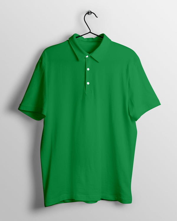 Men's Polo - Green