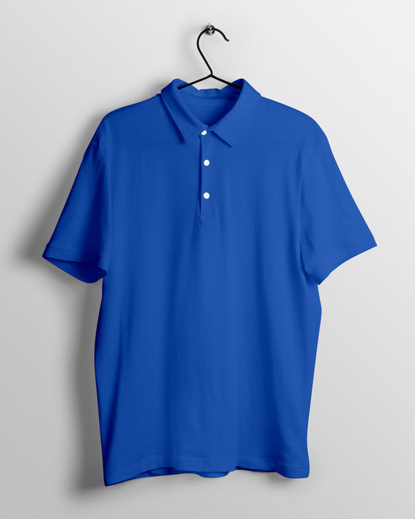 Men's Polo - Royal Blue