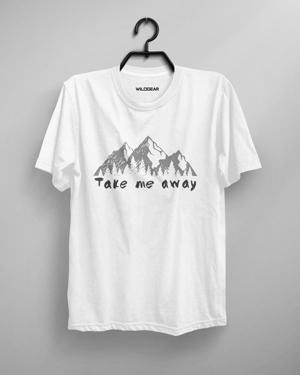 Men's O-Neck T-Shirt - Take Me Away