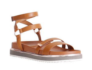GINGER AND SMART PIONEER SANDAL - HONEY TAN LEATHER