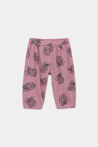 BOBO CHOSES BABY JERSEY TROUSERS - ALL OVER PINEAPPLES