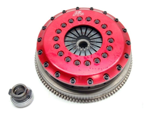 Mitsubishi Evo 4-9 STR2C Twin Plate Clutch by OS Giken