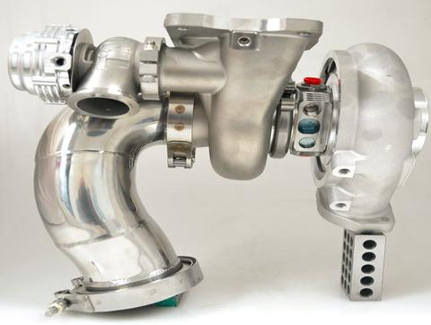 Forced Performance FP Red Stock Frame 76HTZ EVO 9 Stock Frame Turbocharger