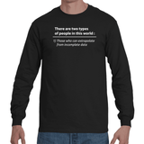 T-shirt Those Who Can Extrapolate - Sheepbay