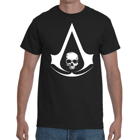 T-shirt Assassin's Creed Black Flag Logo - Sheepbay