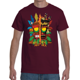 T-shirt Crash Bandicoot Aku AKu & Uka Uka - Sheepbay