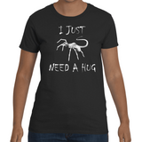T-shirt Alien Just Need A Hug - Sheepbay