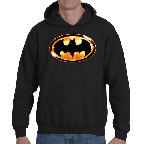 Hooded Sweatshirt Batman Logo Vintage - Sheepbay