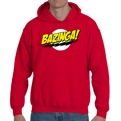 Hooded Sweatshirt The Big Bang Theory - Bazinga - Sheepbay