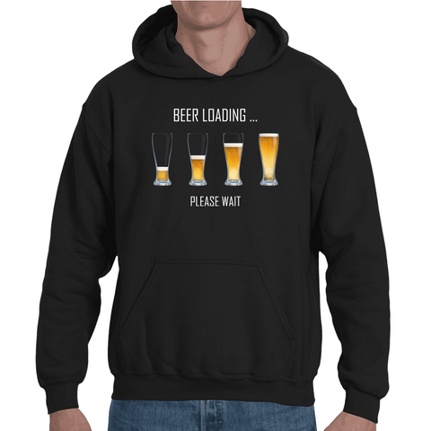 Hooded Sweatshirt Beer Loading - Sheepbay