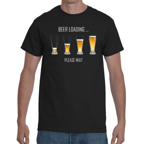 T-shirt Beer Loading - Sheepbay