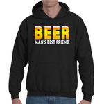Hooded Sweatshirt Beer man's Best Friend - Sheepbay