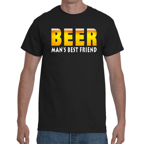 T-shirt Beer - Man's best friend - Sheepbay
