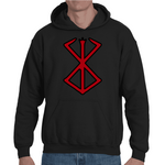 Hooded Sweatshirt Berserk Mark Of Sacrifice - Sheepbay