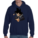 Hooded Sweatshirt Black Goku - Sheepbay