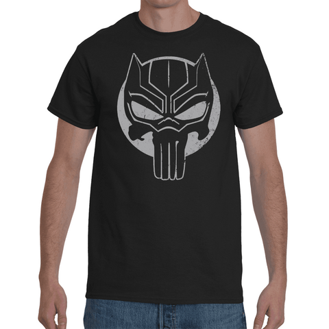 T-shirt Black Panther Punisher - Sheepbay