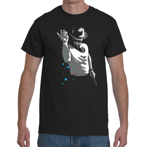 T-shirt Breaking Bad Heisenberg Salt Bae - Sheepbay