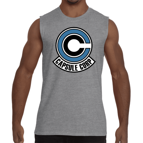Sleeveless Shirt Dragon Ball Capsule Corp - Sheepbay