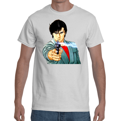 T-shirt City Hunter Revolver - Sheepbay