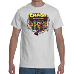 T-shirt Crash Bandicoot Out Of The Shirt - Sheepbay