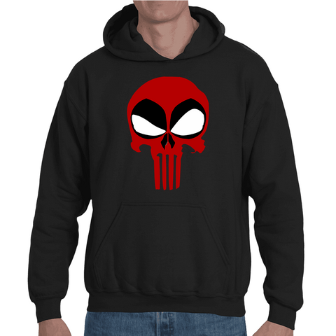 Hooded Sweatshirt Deadpool Punisher - Sheepbay