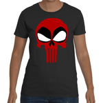 T-shirt Deadpool Punisher - Sheepbay