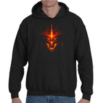 Hooded Sweatshirt Diablo 3 - Sheepbay