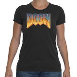 T-shirt Doom Logo Vintage - Sheepbay