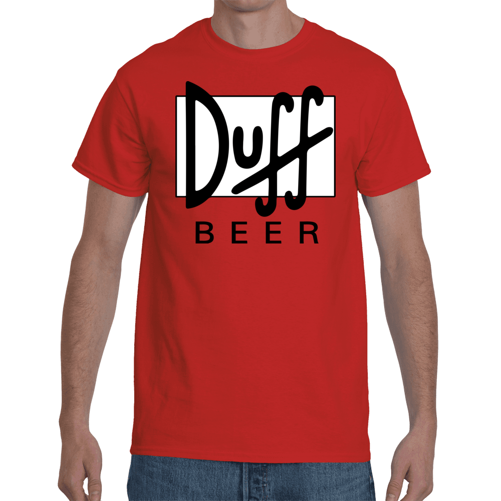 T-shirt Simpsons Duff Beer | Sheepbay.com - Sheepbay