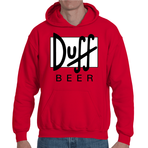 Hooded Sweatshirt Simpsons Duff Beer | Sheepbay.com - Sheepbay