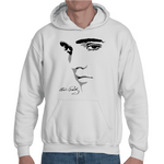 Hooded Sweatshirt Elvis Presley The King of Rock and Roll - Sheepbay