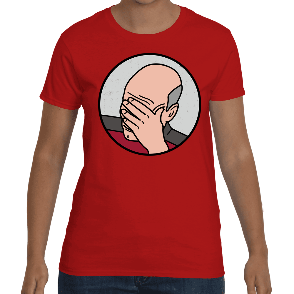 T-shirt Facepalm - Sheepbay