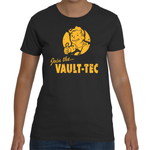 T-shirt Fallout Join The Vaultec - Sheepbay