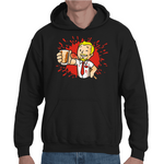 Hooded Sweatshirt Fallout Shaun Of The Dead - Sheepbay
