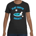 T-shirt Flat Earth Society - Sheepbay