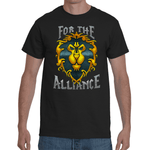 T-shirt World of Warcraft - For The Alliance - Sheepbay