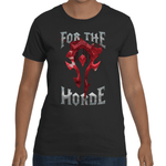 T-shirt World of Warcraft - For The Horde - Sheepbay