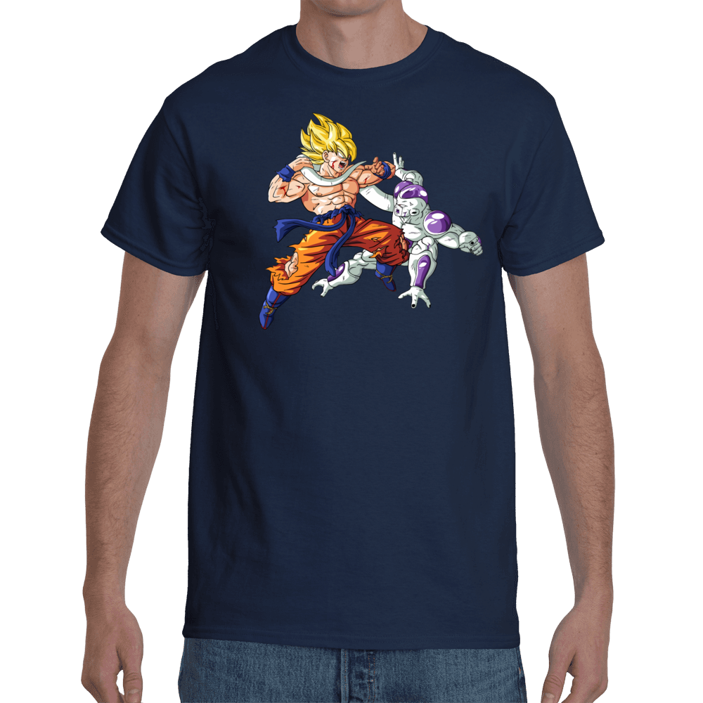 T-shirt Goku Vs Freeza - Sheepbay